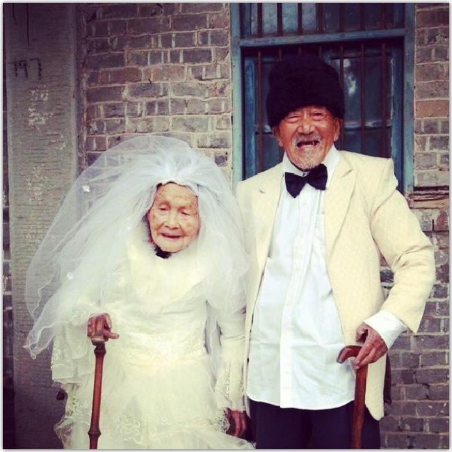Mariage de personnes âgées