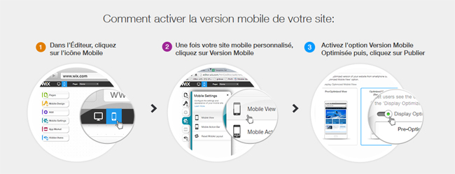 La nouvelle solution mobile de Wix – Plus simple. Plus rapide. 100% Gratuite