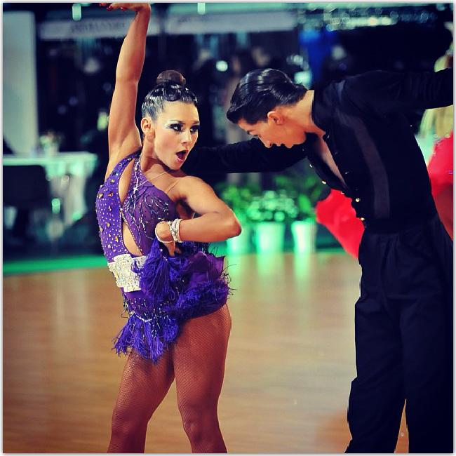 Danseurs en duo