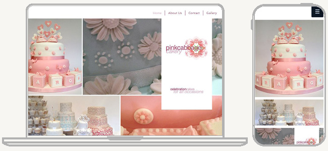 Site  Pink Cabbage Cakery