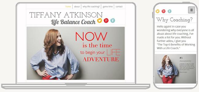 Site Tiffany Atkinson