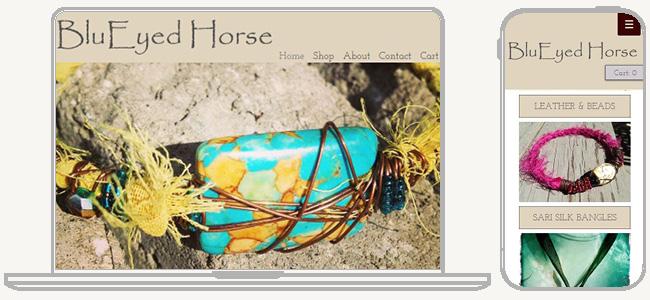Site BluEyed Horse