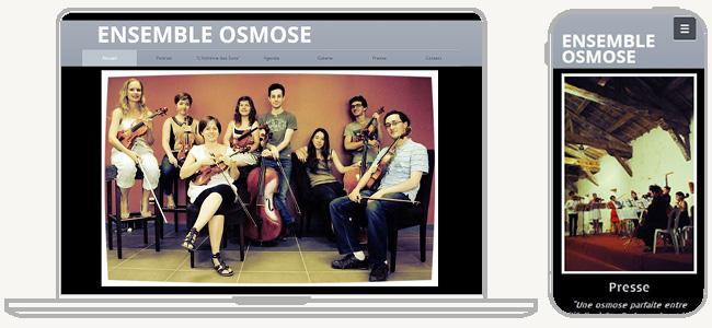 Site Ensemble Osmose