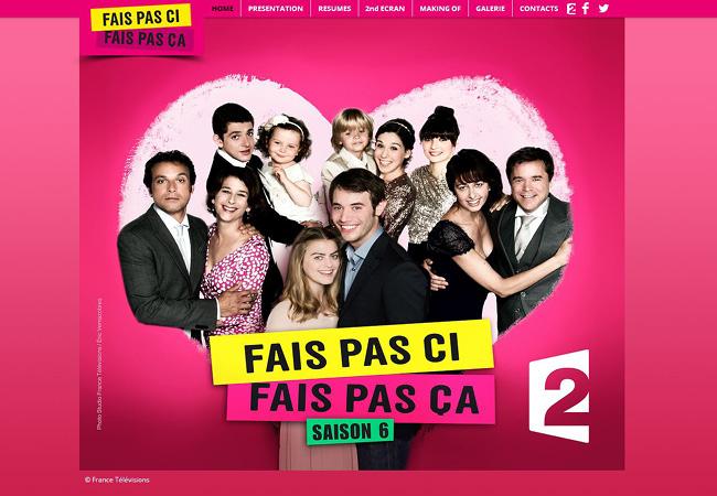 Site bonus de France 2 Série Fais pas ci Fais pas ça