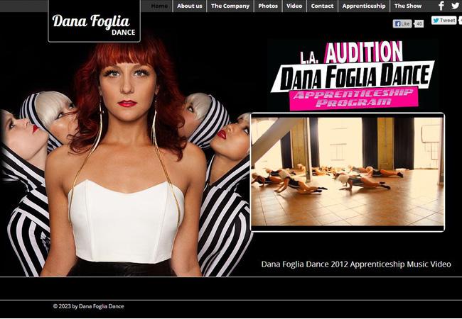 Site Dana foglia dance