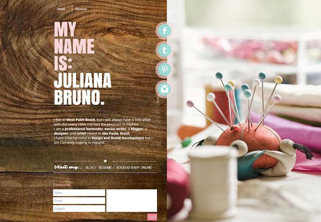 Site Juliana Bruno