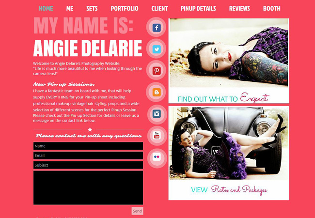 Site Angie Delarie Photography