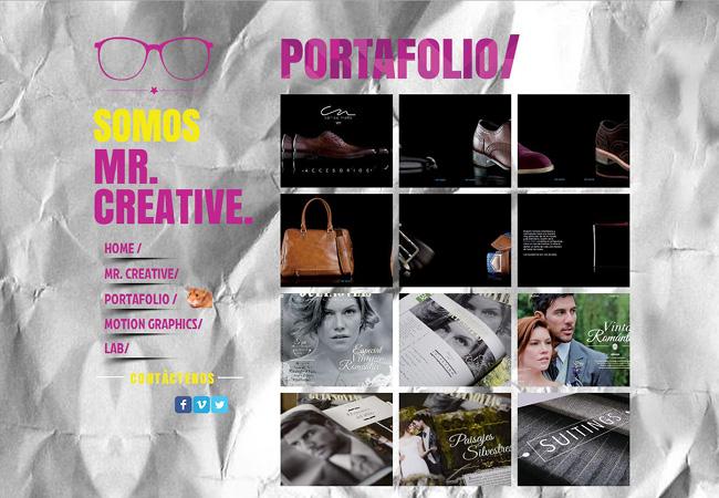 Site Mr. Creative Agencia