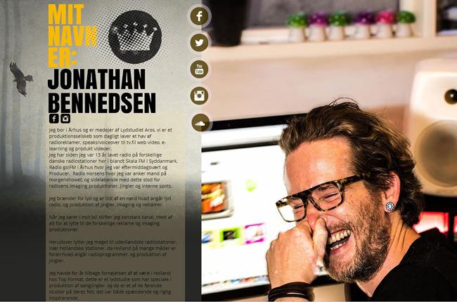 Site Jonathan Bennedsen