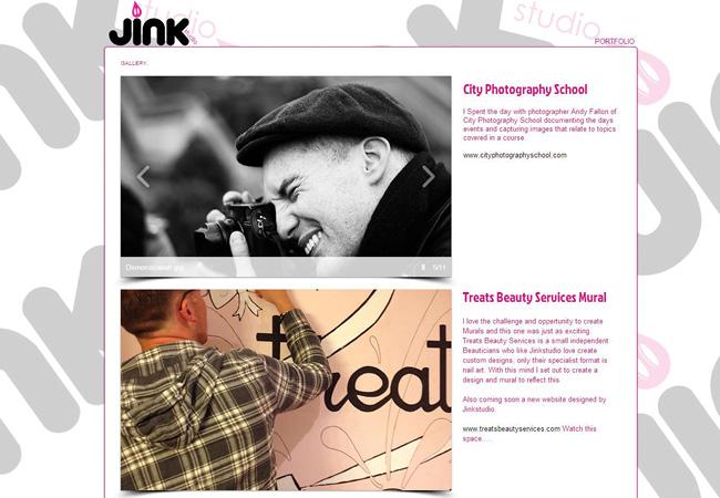 Site Jjink Studio