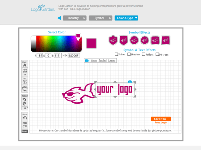 creation logo en ligne free