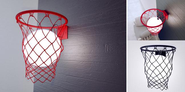 Panier de basket lumière