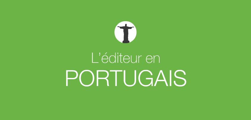 éditeur en portugais