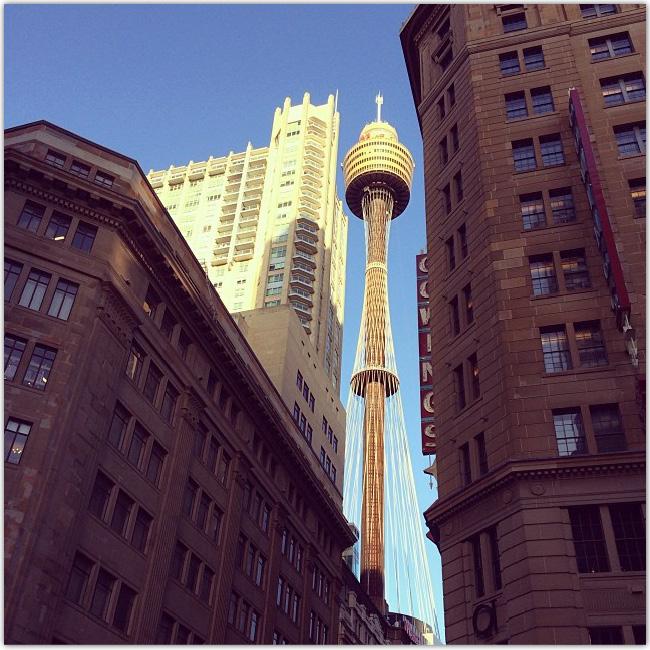 Photo d'un gratte-ciel à Sydney