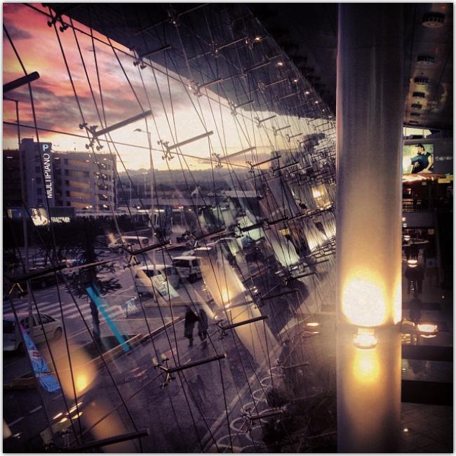 Photo d'intérieur - aéroport de Naples