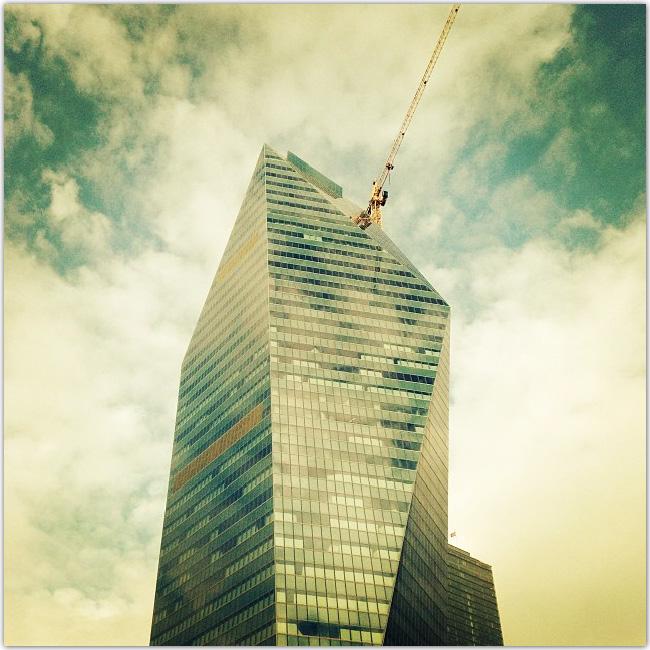 Photo d'un gratte-ciel