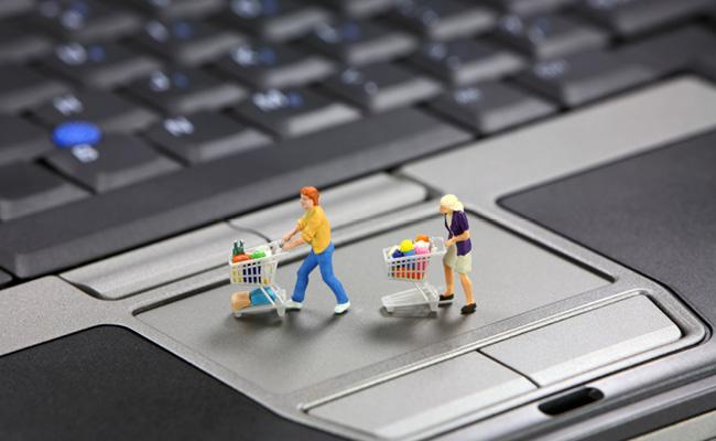 Image libre de droits - site eCommerce