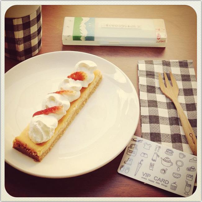 Photo d'un gâteau aux fraises