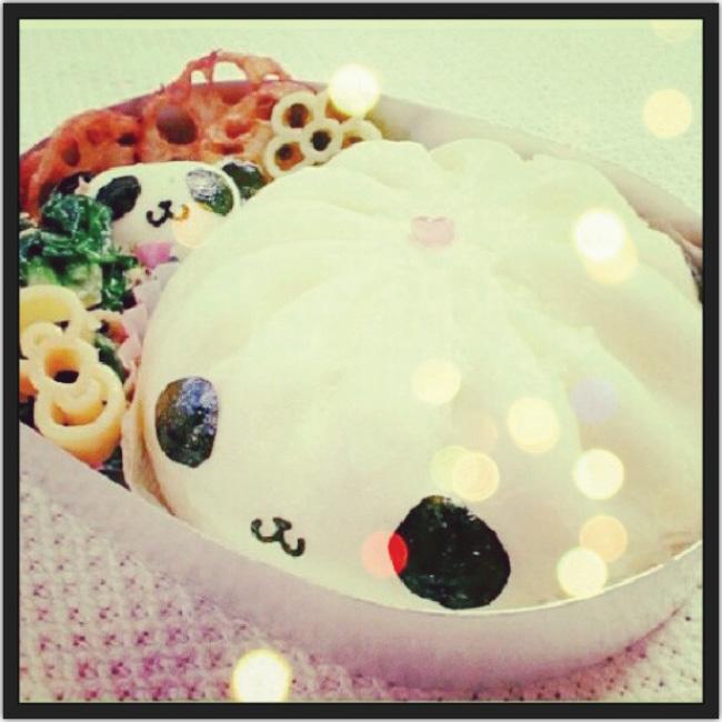 Photo d'un plat en forme de panda