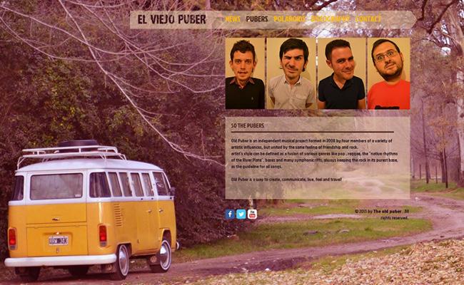 Site de musique El Viejo Puber