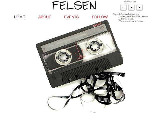 Site de musique Felsen