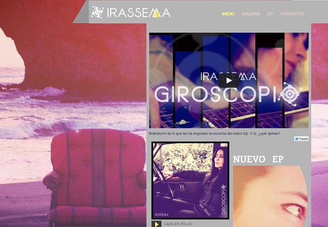 Site de musique Irassema