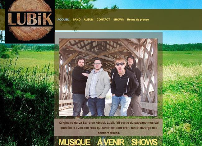 Site de musique  Lubik