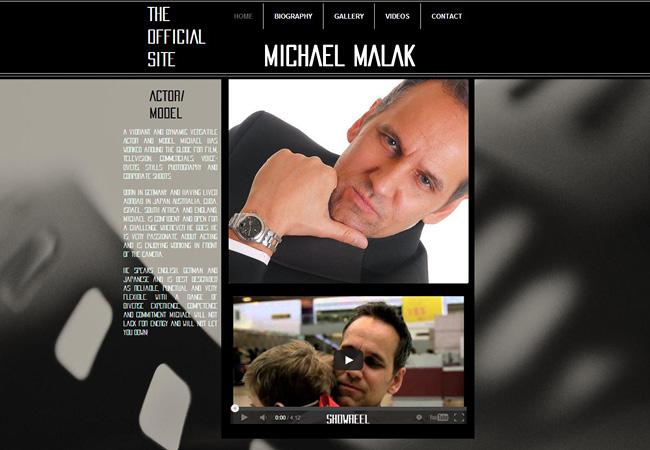 Site de Michael Malak