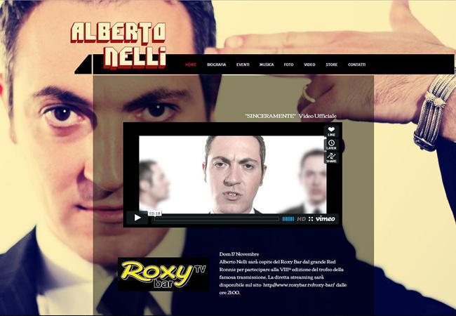 Site de musique Alberto Nelli