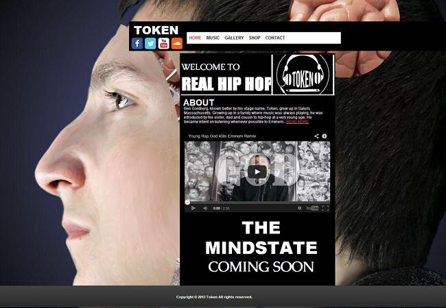 site de musique Token - the mindstate