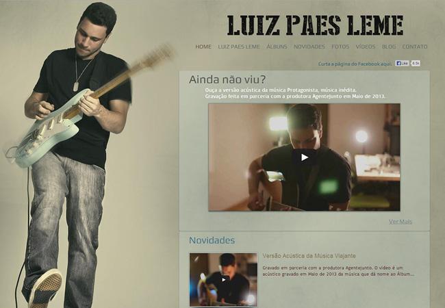 Site de musique Luiz Paes Leme
