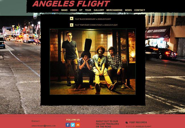 Site de musique Angeles Flight