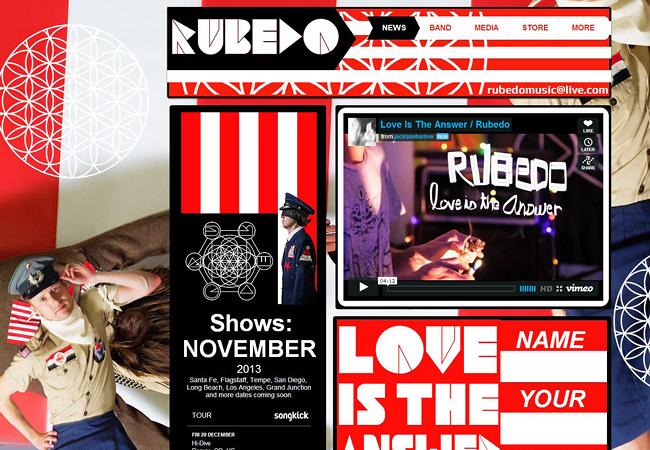 Site de musique Rubedo Music