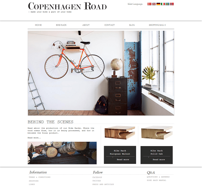 Site: Copenhagen Road - Danemark
