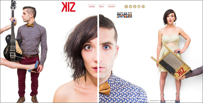 Site : KIz musique - France
