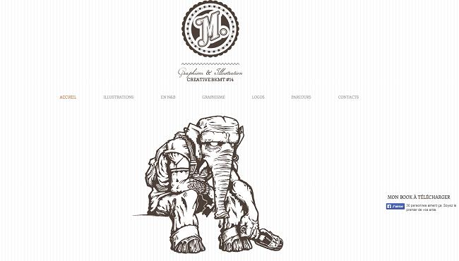 Site de Matthieu Faure - Graphiste Illustrateur