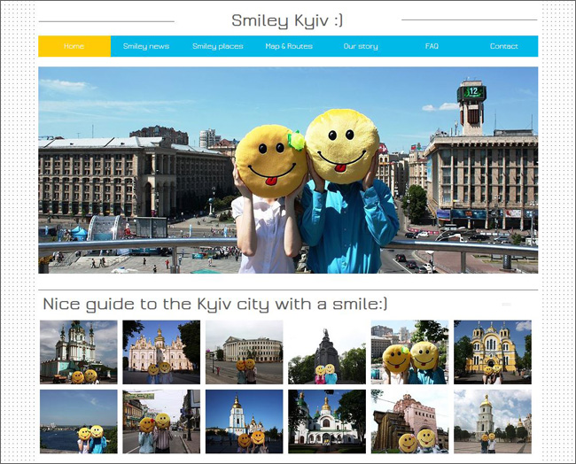 Site  Tours Smiley Kiev - Ukraine