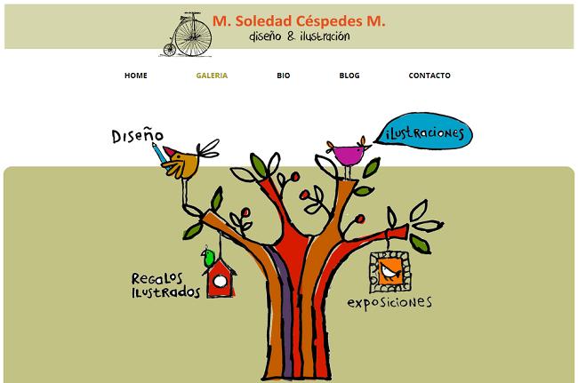 Site : Soledad Céspedes - Chili