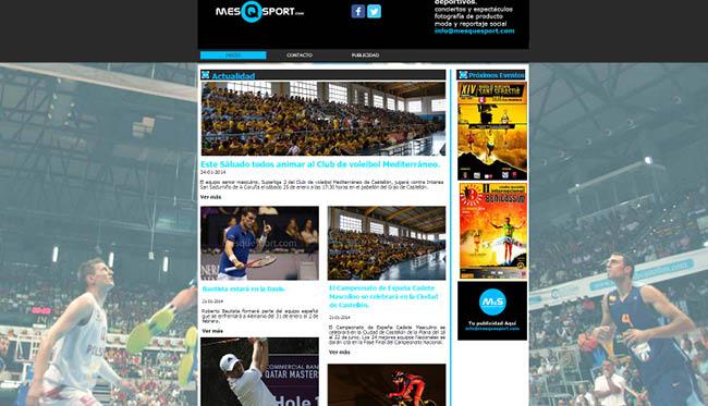 Site : Mes Q Sport