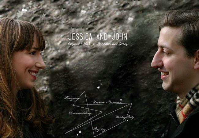 Site du mariage d'Heather et John