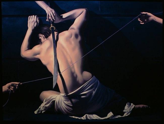 Artiste peintre Moldawan Bernard Stephan Période classique