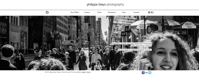 Site Internet de Philippe Bayo