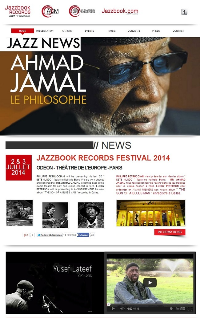 Site : Jazzbook Records