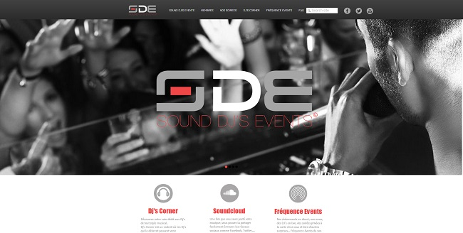 Site : sound djs events
