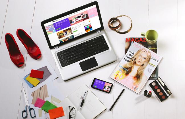 Bureau de blogueuse