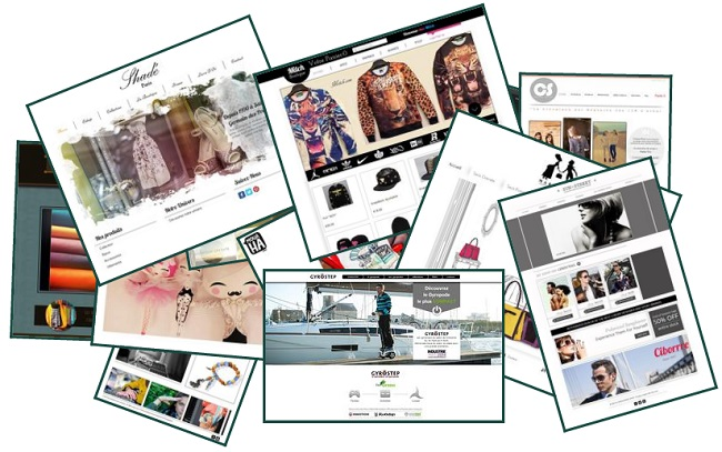 sites eCommerce Wix