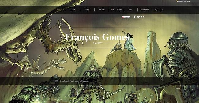 Site Internet de François Gomes