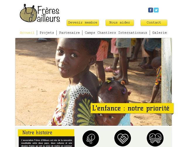 Association Frères d Ailleurs   Humanitaire   Togo