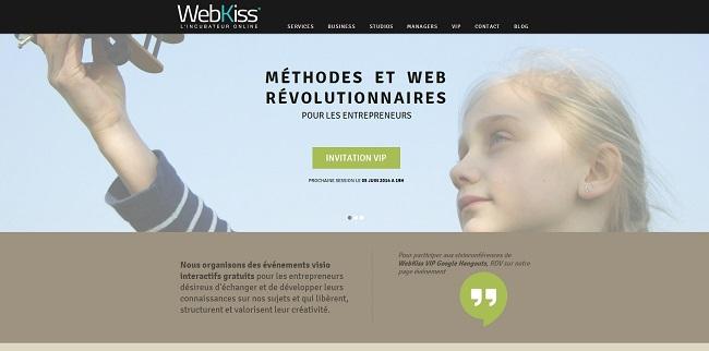 WebKiss Méthodes et Web Révolutionnaires pour les Entrepreneurs