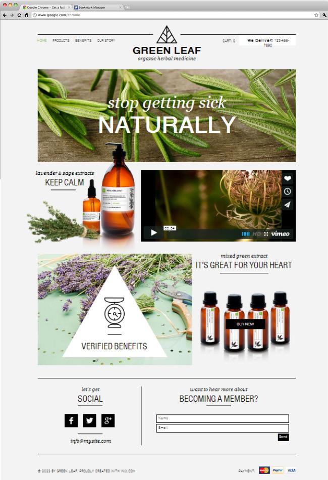 Herbal Shop